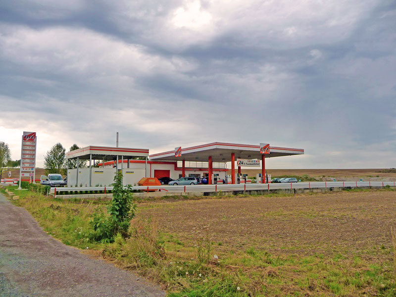 bft Tankstelle in Schabhausen bei Gotha