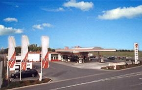 bft Tankstelle in Arnstadt am IKC