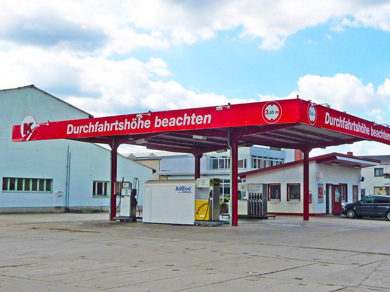 Freie Tankstelle in Griesheim