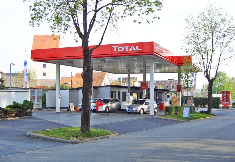 TOTAL Tankstelle in Arnstadt